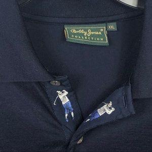Bobby Jones Shirts - VTG Shirt  Sz XXL Bobby Jones Golf Men Collection